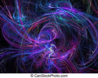 fractal, digital