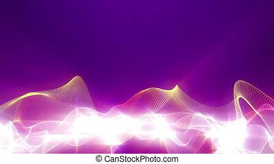 fractal, farbować tło, abstrakcyjny