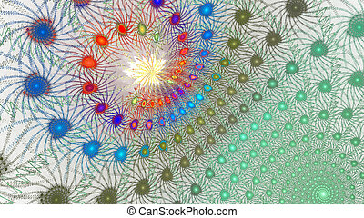 Fractal galactic - 3d galactic abstract pattern for...