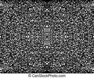 fractal, grunge