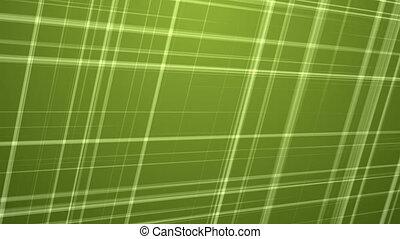 Fractal Lines on Green Background.