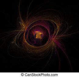 fractal, linterna