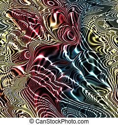 Fractal modern art seamless generated texture
