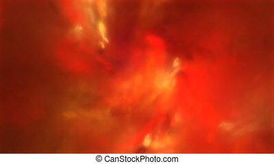 fractal, ogień