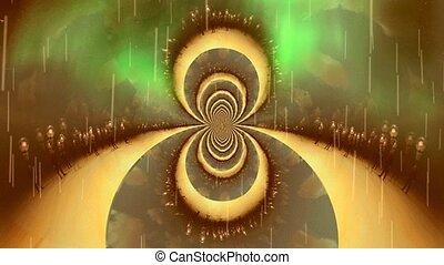 fractal, parallèle, dimensions