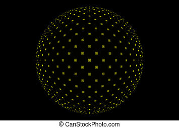 fractal, pelota mágica, fantasía