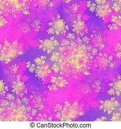 rosebuds seamless pattern