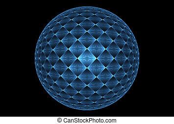 fractal, sfera magica, fantasia