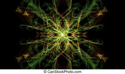 fractal, skwer, skutek, tunel, kolor, ruch, wzory, wymiana, ...