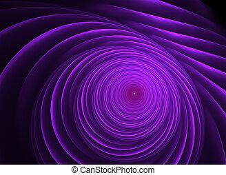 fractal spiral. background