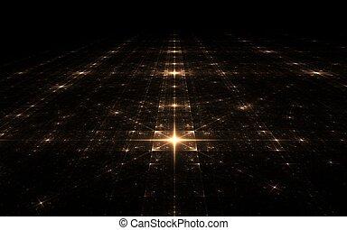 fractal stellar surface