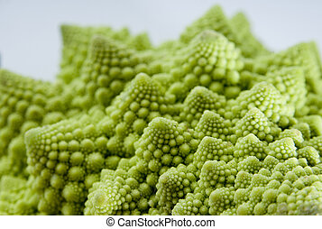 Fractal Vegetable - A strange vegetable (type of cauliflower...