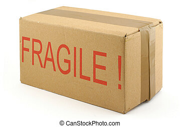 fragile cardboard box #2