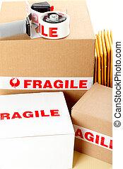 fragile delivery service - Fragile delivery service. Box,...