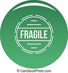 Fragile logo, simple style. - Fragile logo. Simple...