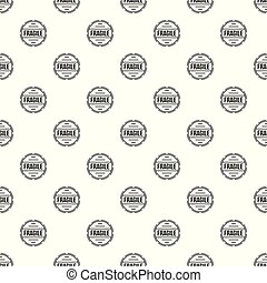 Fragile pattern seamless vector repeat geometric for any web...