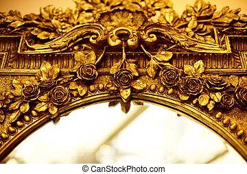 fragment, luxe, spiegel