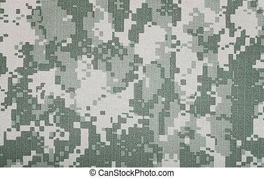 fragment, militaire, toile, pantalon