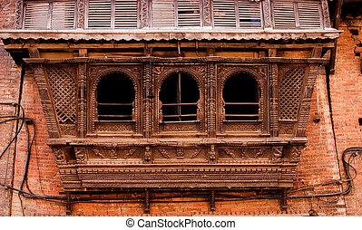 Fragment of a facade