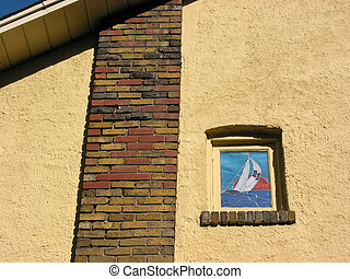 Fragment of a house