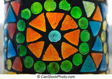 Fragment of a stained glas