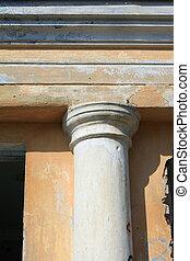 fragment of ancient column