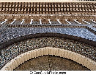 Fragment of Arabesque Architecture
