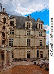 Fragment of Chateau Chambord palace