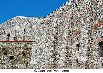 Fragment of Fortress Wall - Fragment of an Old Fortress Wall