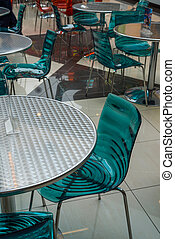 Fragment of interior cafe