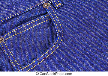 Fragment of jeans