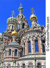 Church of the Savior on Blood in St. Petersburg. Russia
