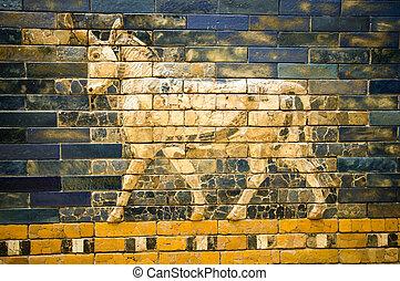 fragment of the Ishtar Gate