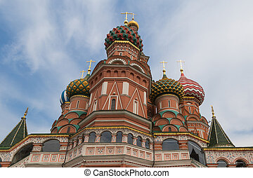 Fragment of the Saint Basil Cathedral