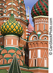 St. Basil church  in Moscow