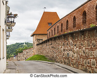 Fragment of the town wall