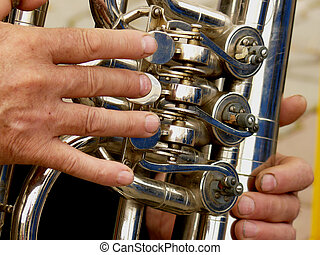 fragment of tuba