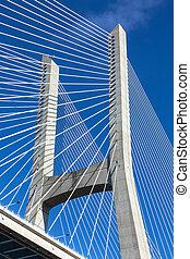 fragment, pont, moderne