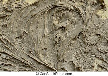 fragment, résumé, peinture huile