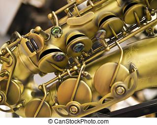 fragment, saxofone