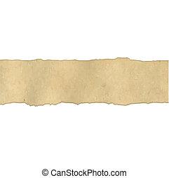 Fragmentary Vintage Paper - Fragmentary Old Vintage Paper...