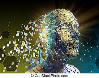 Fragmentation of human identity