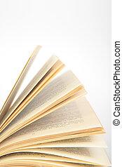 fragmento, de, apertura, libro