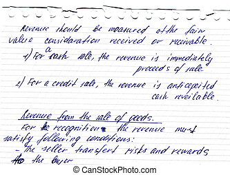fragmento, de, un, viejo, carta manuscrita