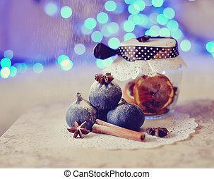 fragrant fantasy - Christmas still life fragrant, beautiful...