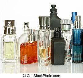 fragranze, bottiglie, profumo