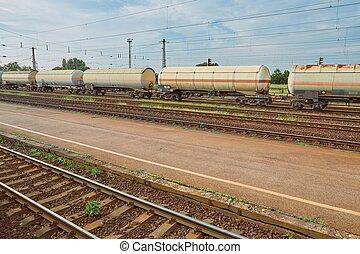 fragt tog, wagons