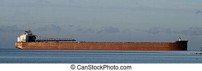 fragtskib, great sø
