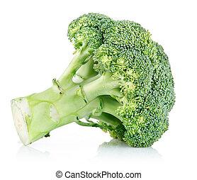 frais, chou, vert, brocoli