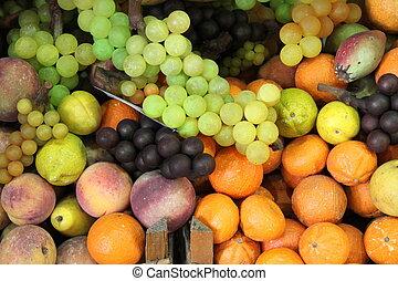 frais, composition, fruits